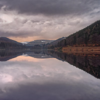 Buy canvas prints of  Derwent Reflections                               by Darren Galpin