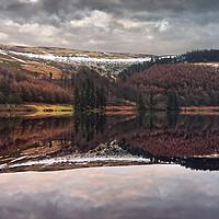 Buy canvas prints of Derwent Winter Reflections                         by Darren Galpin