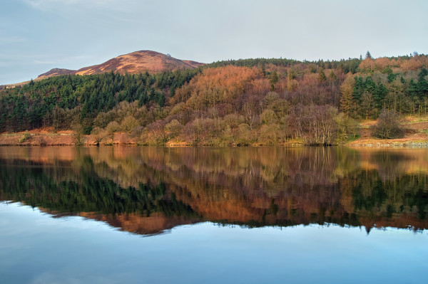 Ladybower Reflections  Canvas print by Darren Galpin