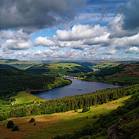 Buy canvas prints of Ladybower & Derwent Valley                       by Darren Galpin