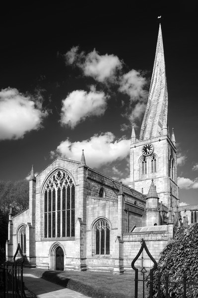 The Church of St Mary and All Saints, Chesterfield Canvas print by Darren Galpin