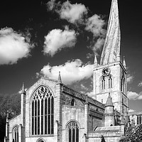 Buy canvas prints of The Church of St Mary and All Saints, Chesterfield by Darren Galpin