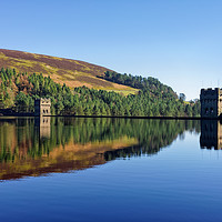 Buy canvas prints of Derwent Dam and Reservoir                          by Darren Galpin