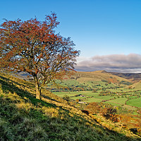 Buy canvas prints of Vale of Edale from Backtor Nook                    by Darren Galpin