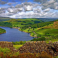 Buy canvas prints of Ladybower View in Summer                           by Darren Galpin