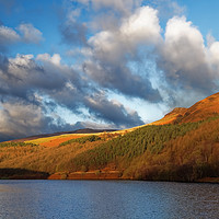 Buy canvas prints of Ladybower in Autumn                       by Darren Galpin