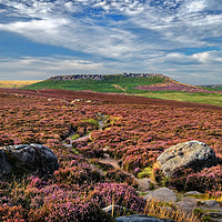 Buy canvas prints of Approach to Higger Tor                       by Darren Galpin