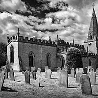 Buy canvas prints of St Anne's Church,Baslow                     by Darren Galpin