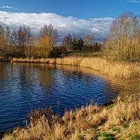 Buy canvas prints of Manvers Lake                        by Darren Galpin