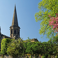 Buy canvas prints of All Saints Church in Bakewell                      by Darren Galpin