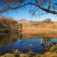 Buy canvas prints of Blea Tarn, Lake District                    by Darren Galpin