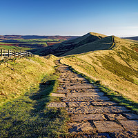 Buy canvas prints of Along the Great Ridge                              by Darren Galpin