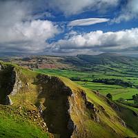 Buy canvas prints of Winnats Pass & Hope Valley                         by Darren Galpin