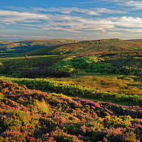 Buy canvas prints of Burbage Moor and Houndkirk Hill                    by Darren Galpin