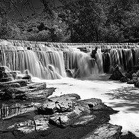 Buy canvas prints of Monsal Weir                       by Darren Galpin