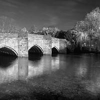 Buy canvas prints of Bakewell Bridge & River Wye by Darren Galpin