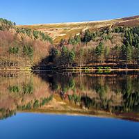 Buy canvas prints of  Derwent Reservoir by Darren Galpin