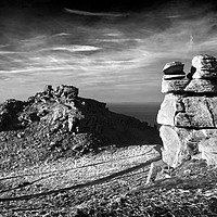 Buy canvas prints of The Valley of the Rocks                       by Darren Galpin
