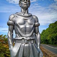 Buy canvas prints of Man of Steel                                 by Darren Galpin