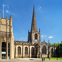 Buy canvas prints of Sheffield Cathedral                       by Darren Galpin