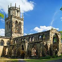 Buy canvas prints of All Saints Church, Pontefract                      by Darren Galpin