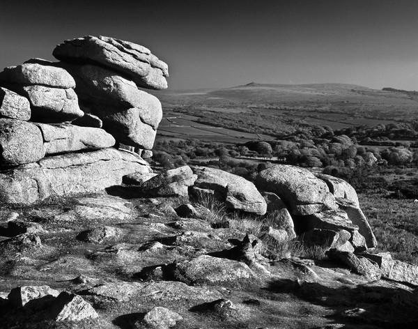 Pew Tor,Dartmoor Canvas Print by Darren Galpin
