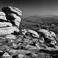 Buy canvas prints of Pew Tor,Dartmoor by Darren Galpin