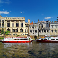 Buy canvas prints of York Guildhall & River Ouse                        by Darren Galpin