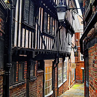 Buy canvas prints of    Lady Pecketts Yard, York                        by Darren Galpin