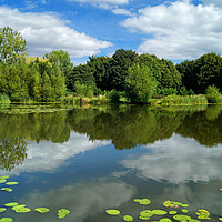 Buy canvas prints of Bolton Brick Ponds                                by Darren Galpin