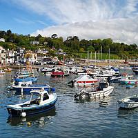 Buy canvas prints of Lyme Regis Harbour                          by Darren Galpin