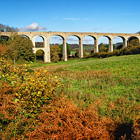 Buy canvas prints of Cannington Viaduct, Uplyme                       by Darren Galpin