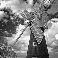 Buy canvas prints of North Leverton Windmill                            by Darren Galpin