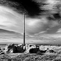 Buy canvas prints of Stanage Pole, Peak District                        by Darren Galpin
