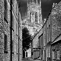 Buy canvas prints of Precentors Court & York Minster   by Darren Galpin