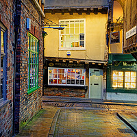 Buy canvas prints of Little Shambles at Night by Darren Galpin