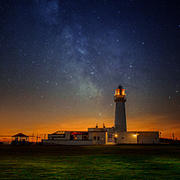 Buy canvas prints of Flamborough Stars by Darren Ball