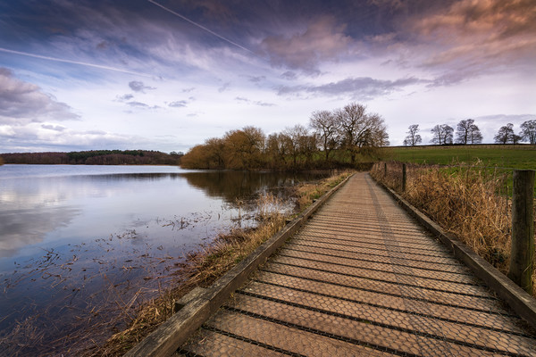 Staunton Harold Reservoir Canvas Print by Darren Ball