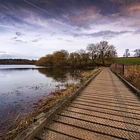 Buy canvas prints of Staunton Harold Reservoir by Darren Ball