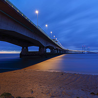 Buy canvas prints of severn bridge by kevin murch