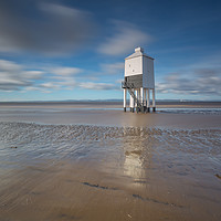 Buy canvas prints of Burnham on sea low lighthouse by kevin murch