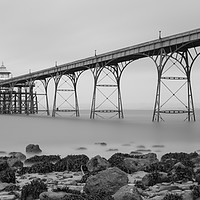 Buy canvas prints of clevedon pier by kevin murch