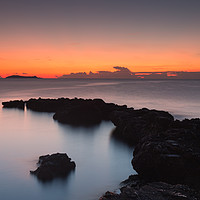 Buy canvas prints of ibiza sunrise . by kevin murch