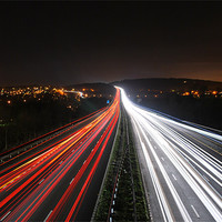 Buy canvas prints of Southern bound Lights by nicholas mordecai