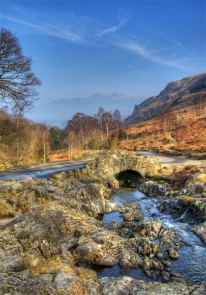 Ashness Bridge Canvas print by Tracey Whitefoot
