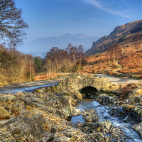 Buy canvas prints of Ashness Bridge by Tracey Whitefoot