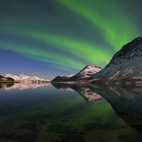 Buy canvas prints of Reflections of Aurora by Tracey Whitefoot