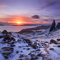 Buy canvas prints of Winter at the Storr  by Tracey Whitefoot