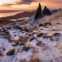 Buy canvas prints of Storr Sunrise  by Tracey Whitefoot