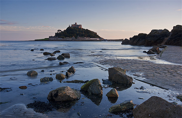 The Mount Canvas print by Christopher Barnard